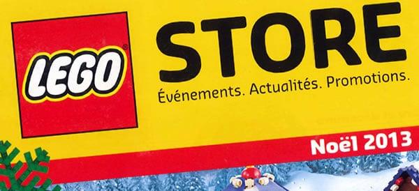 Catalogue de Noël 2013 @ LEGO Stores