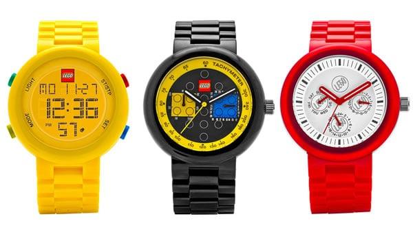 """Nouvelles montres LEGO pour """"adultes"""""""