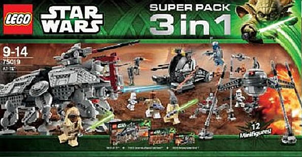 LEGO Star Wars Super Pack 3in1