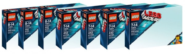 The LEGO Movie packaging