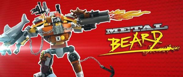 The LEGO Movie : Metal Beard