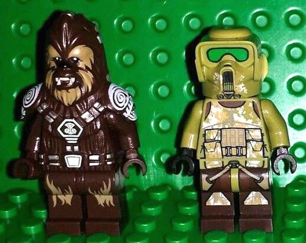 LEGO Star Wars 2014 minifigs
