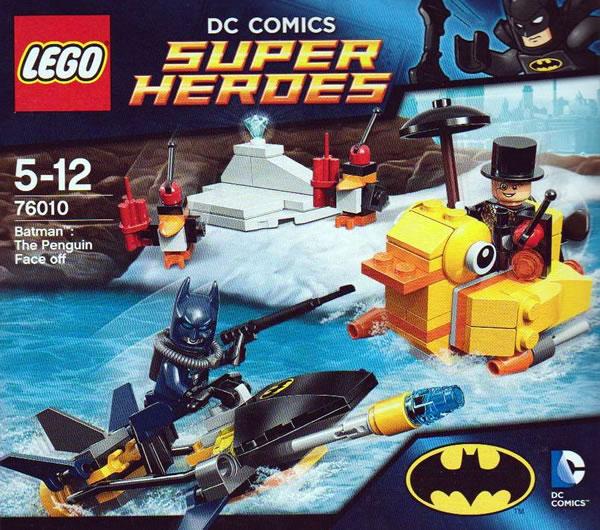 LEGO DC Comics Super Heroes - 76010 Batman : The Penguin Face off