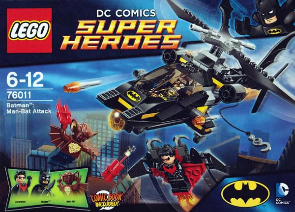 LEGO DC Comics Super Heroes - 76011 Batman : Man-Bat Attack