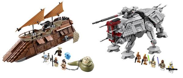 LEGO Star Wars 75019 & 75020