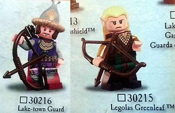 LEGO The Hobbit new polybags : 30215 & 30216