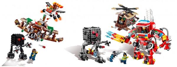 The LEGO Movie : 70812 Creative Ambush & 70813 Rescue Reinforcements