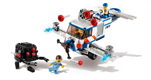 The LEGO Movie : 70811 The Flying Flusher