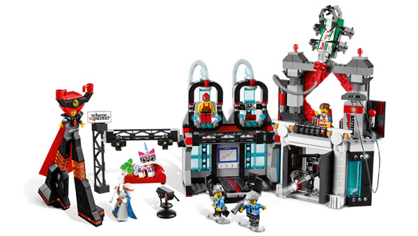 The LEGO Movie : 70809 Lord Business' Evil Lair