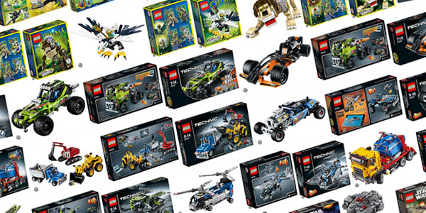 LEGO Technic & LEGO Legends of Chima 2014