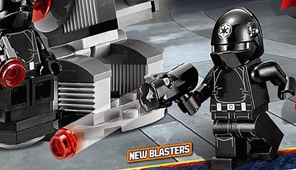 LEGO Star Wars 2014 : New blasters !