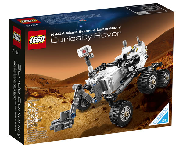 21104 LEGO® NASA Mars Science Laboratory Curiosity Rover