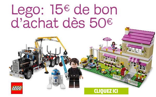 Bon d'achat de 15 € pour 50 € d'achat sur amazon.fr