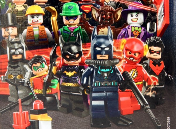 LEGO DC Comics Super Heroes 2014 minifigs