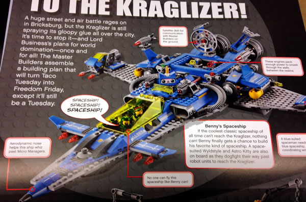 The LEGO Movie : Benny's Spaceship