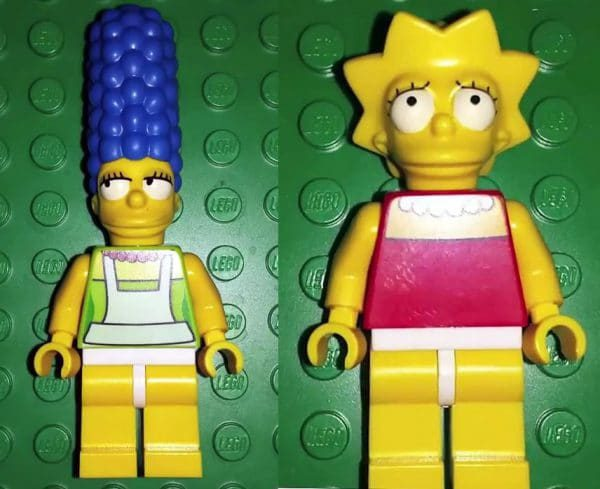 LEGO The Simpsons : Marge & Lisa