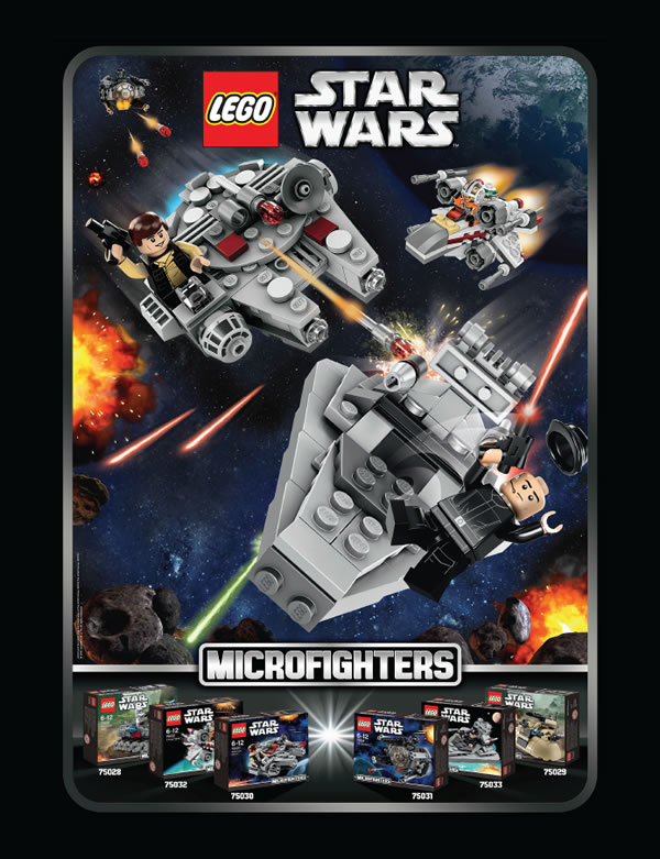 LEGO Star Wars : Microfighters
