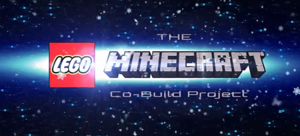 LEGO Minecraft Co-Build Project
