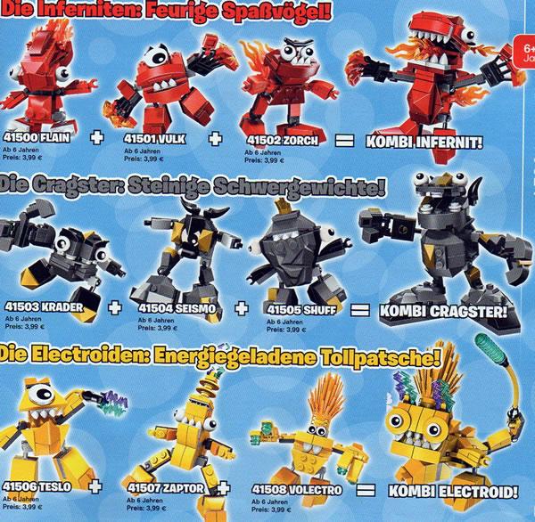 LEGO Mixels (Series 1)