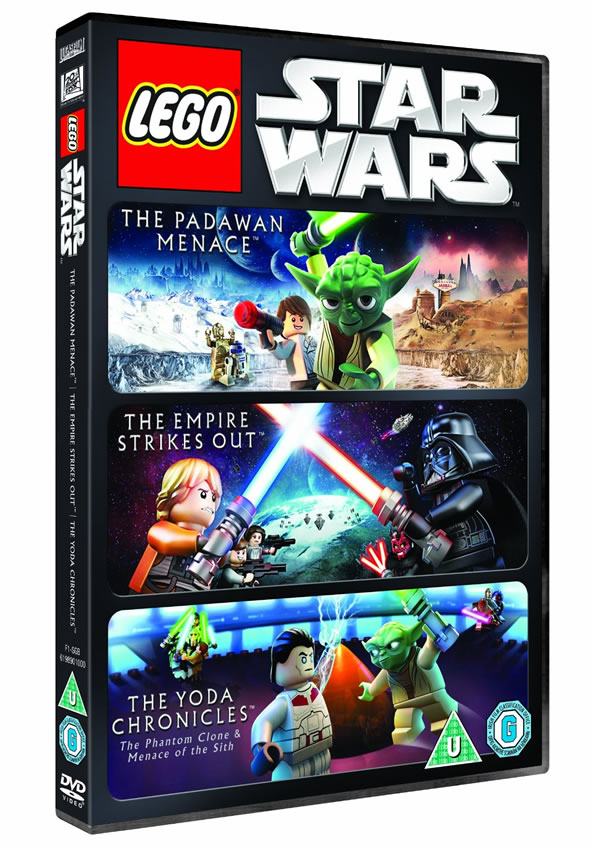 LEGO Star Wars Triple Pack (The Padawan Menace/The Empire Strikes out/The Yoda Chronicles)