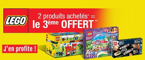 Toys R Us : 2 produits LEGO achetés, le 3ème offert (Encore !)