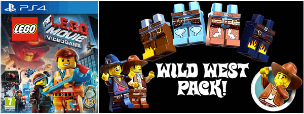 The LEGO Movie Video Game : Wild West Pack