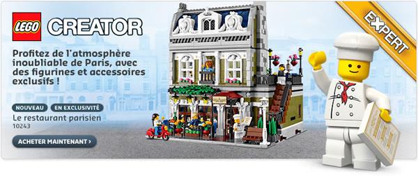 Shop@Home : 10243 Parisian Restaurant