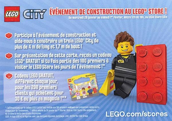 Anniversaire LEGO Store Lille