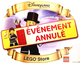LEGO Store @Disney Village - Annulation