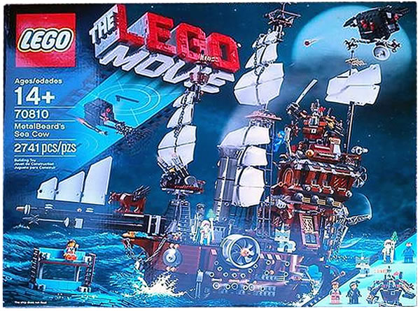 The LEGO Movie : 70810 Metalbeard's Sea Cow