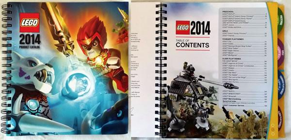 LEGO Retailer Catalogue 2014