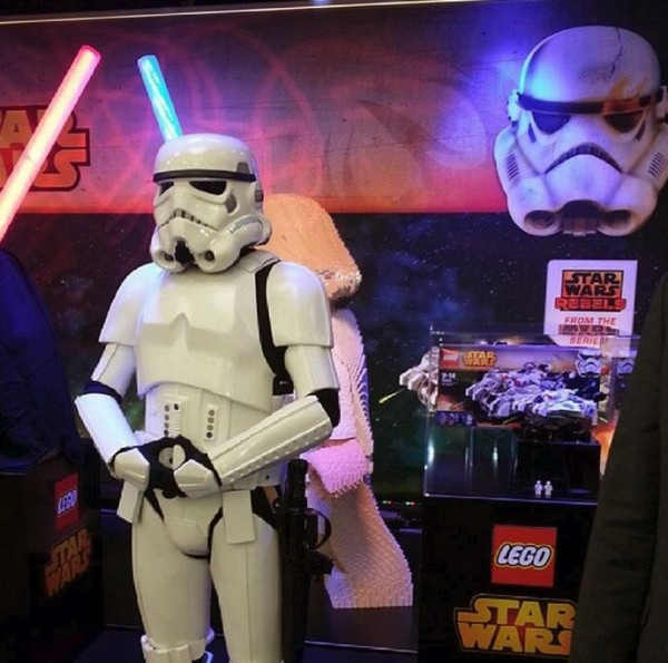 LEGO @ Nuremberg Toy Fair 2014
