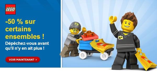 Soldes sur le LEGO Shop