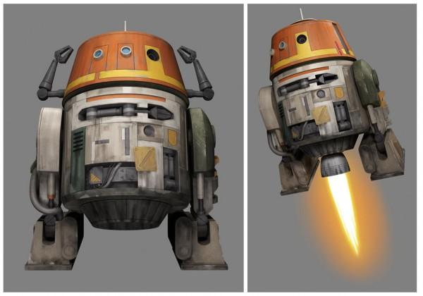 Star Wars Rebels : Chopper