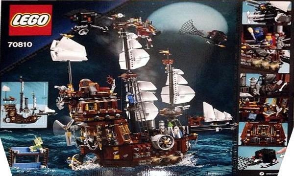 The LEGO Movie 70810 MetalBeard's Sea Cow