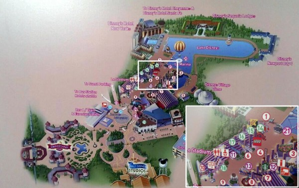 LEGO Store @ Disneyland