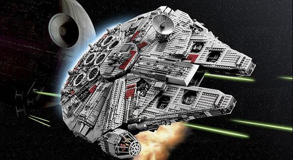 LEG0 STar Wars 10179 Millennium Falcon