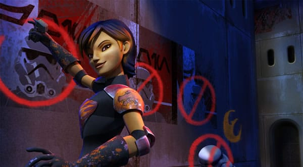 Star Wars Rebels : Sabine