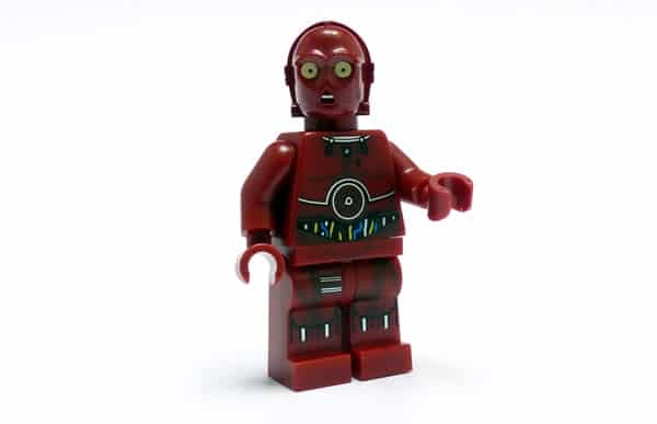 LEGO Star Wars TC-4 minifig (Polybag 5002122)