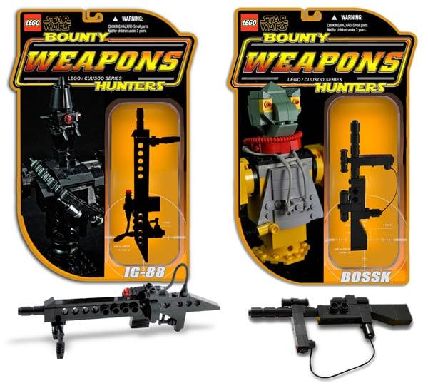Bounty Hunters Weapons par Omar Ovalle