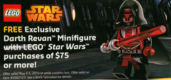 LEGO STar Wars 5002123 Darth Revan
