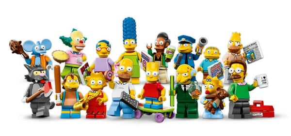 71005 LEGO The Simpsons Collectible Minifigures