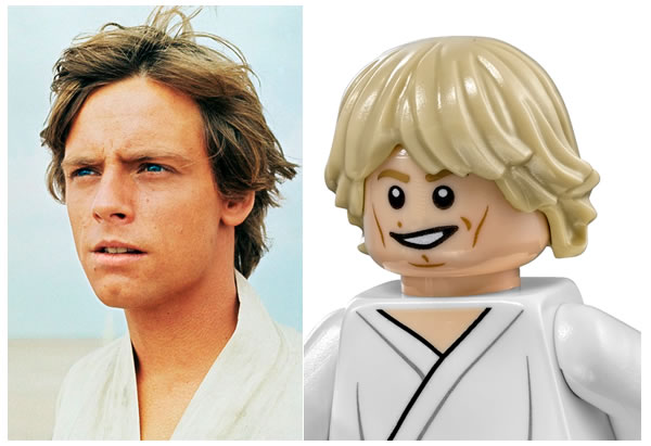 75059 Sandcrawler : Luke Skywalker