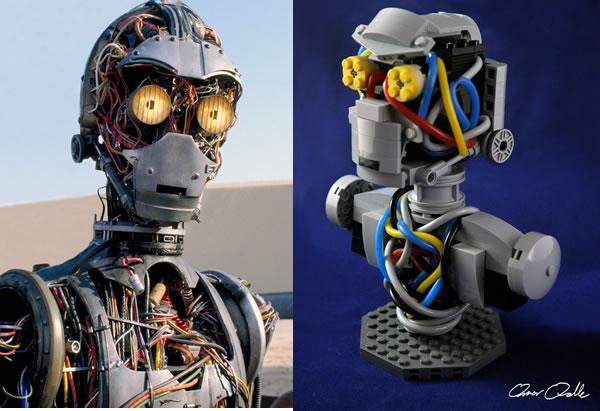 C-3PO unfinished par Omar Ovalle