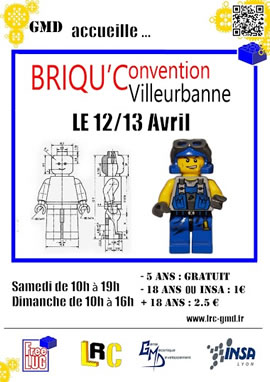 Briqu'Convention Villeurbanne