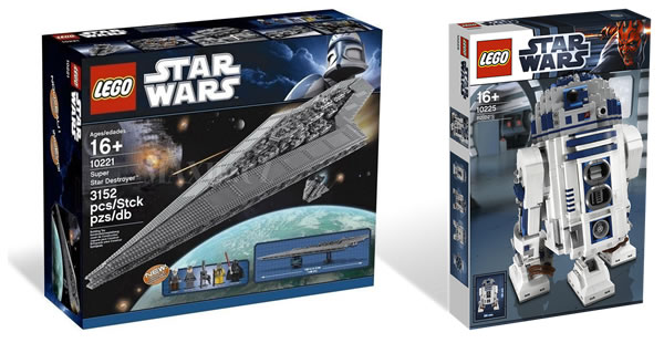 10221 Super Star Destroyer & 10225 R2-D2
