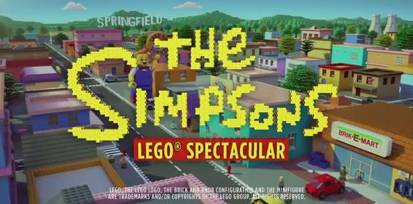 simpsons lego teaser
