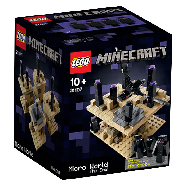 21107 LEGO Minecraft The End
