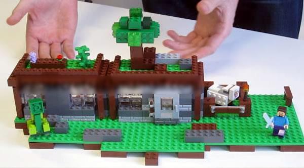 LEGO Minecraft 2014 : 21115 The First Night ?