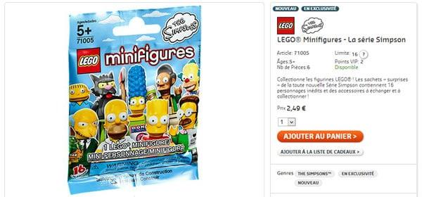 71005 LEGO® Minifigures - La série Simpson